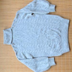 ARITZIA Wilfred Free  size L wool and alpaca blend fuzzy turtleneck sweater